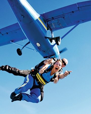跳伞 Skydiving